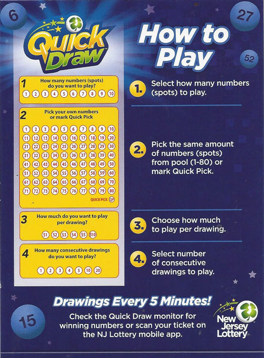 quick draw lottery